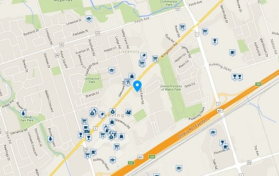 Discovery Place Condos 1890 Valley Farm Pickering Condo Walk Score Walkscore