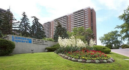 Lambton Square Condos 240 Scarlett Toronto MLS Listings For Sale