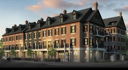 Le Sedici Condo Townhouses Townhomes Maple Vaughan For Sale