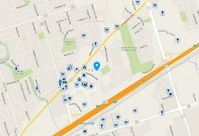 The Millennium Condos 1000 The Esplanade Pickering Condo Walk Score Walkscore