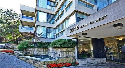 The Waterfall Condos MLS Listings For Sale 2545 Bloor West Toronto